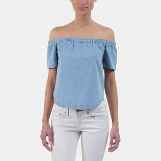 3x1 Clark Off-the-Shoulder Top