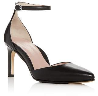 Taryn Rose Women's Graziella Leather Pointed Toe Pumps