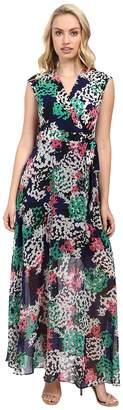 Taylor Chiffon/Jersey Maxi Dress Women's Dress