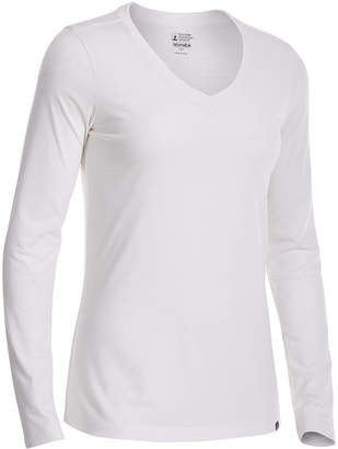 Ems Women's Techwick Vital Long-Sleeve V-Neck T-Shirt