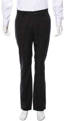 John Varvatos Tweed Wool Pants