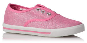George Slip On Lace-free Canvas Trainers