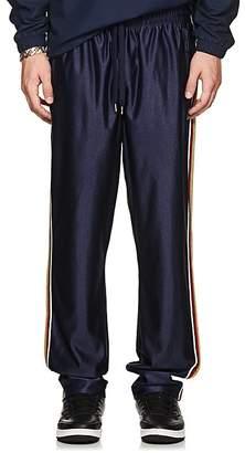 Fila Men's Metallic-Striped Logo Track Pants