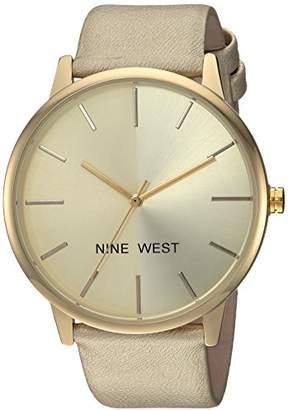 Nine West Women's -Tone Strap Watch