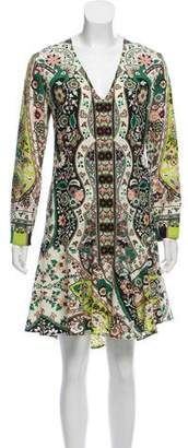 Etro Fluted Wool Dress