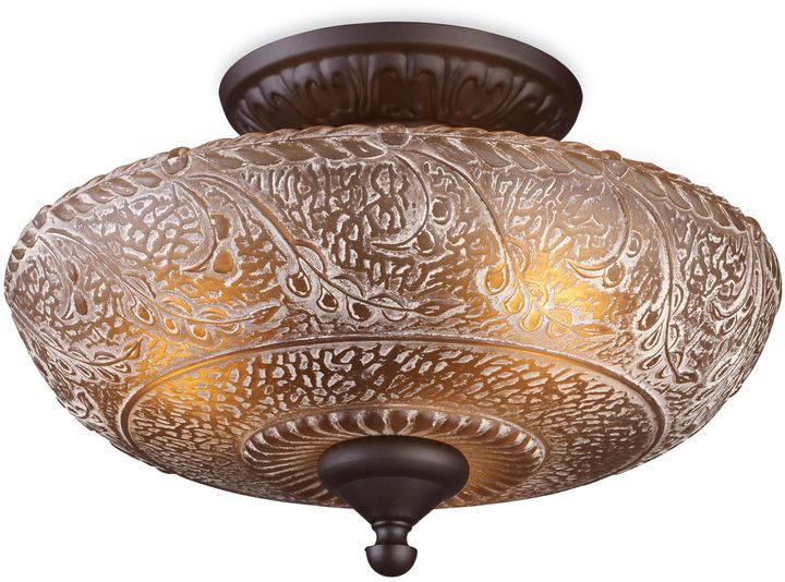 Bed Bath & Beyond ELK Lighting Norwich Semi Flush Mount Fixture
