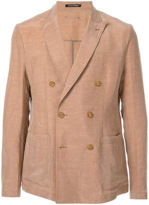 7a1768d56ac6 Armani Mens Double Breasted Blazer - ShopStyle