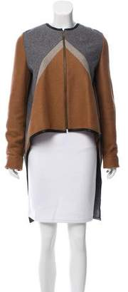 Derek Lam High-Low Wool Coat