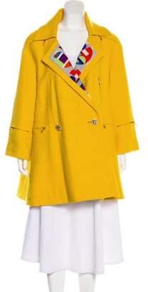 Chanel Wool Swing Coat