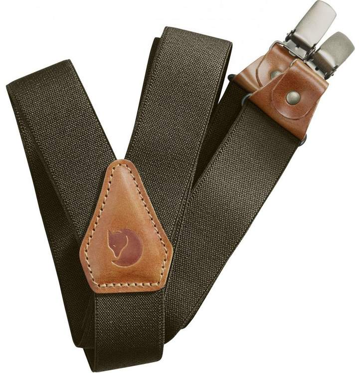 Fjallraven Singi Leather Clip/Loop Suspenders