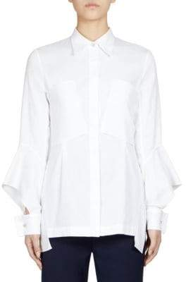 Roland Mouret Anderson Bell Sleeve Blouse