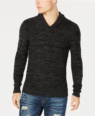 American Rag Men's Jacquard Shawl-Collar Sweater, Created for Macy's