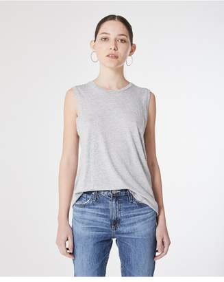 AG Jeans The Ashton Muscle Tank - Heather Grey