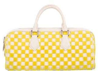 Louis Vuitton Damier Cubic East West Speedy Bag