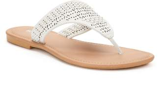 Sonoma Goods For Life Women's SONOMA Goods for Life Basket Weave Perforated Shield Sandals