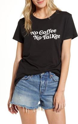Sub Urban Riot Sub_Urban Riot No Coffee No Talkee Graphic Tee