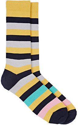 Paul Smith Men's Mel Striped Mid-Calf Socks $40 thestylecure.com