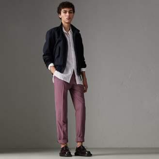 Burberry Cotton Gabardine Harrington Jacket