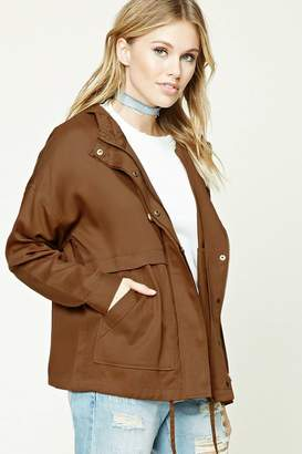 Forever 21 Contemporary Utility Jacket