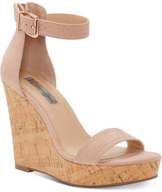 INC International Concepts I.n.c. Vidita Platform Wedge Sandals, Women Shoes