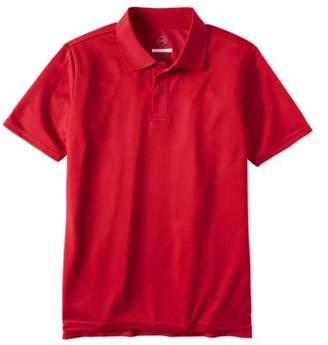 Wonder Nation Boys School Uniform Short Sleeve Performance Polo
