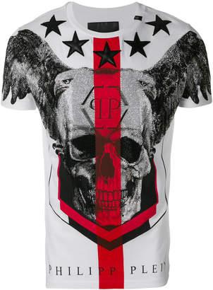 Philipp Plein winged skull T-shirt