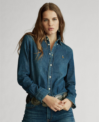 Ralph Lauren Custom Fit Denim Shirt
