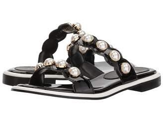 Suecomma Bonnie Pearl Ornament Flat Sandals