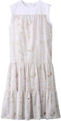 See by Chloe (シー バイ クロエ) - シー バイ クロエ DRESS サマー刺繍コットンドレス