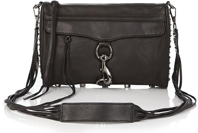 Rebecca Minkoff Boho Glam Studded Leather Clutch