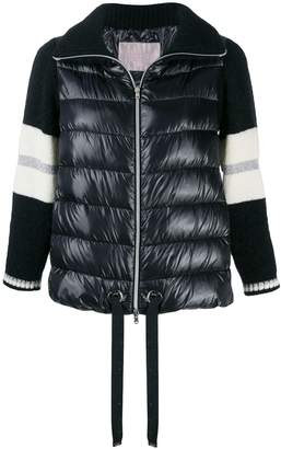 Herno padded wool sleeve jacket