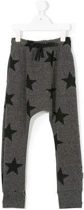 Nununu star print track pants