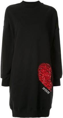 MSGM sequins embellished dress