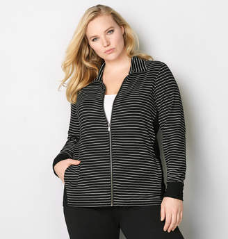 Avenue Stripe Active Jacket