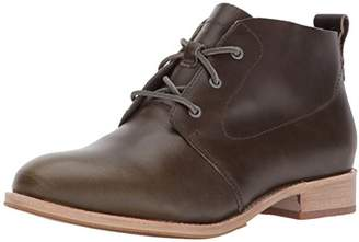 Caterpillar Women's Hester 3 Eyelet Leather Chukka Bootie Ankle Boot