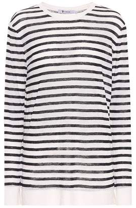 Alexander Wang Striped long-sleeved shirt