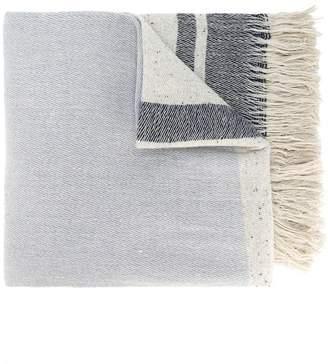 Forte Forte woven stripe scarf