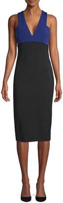 Victoria Beckham Women's Colorblock Sleeveless Sheath Dress