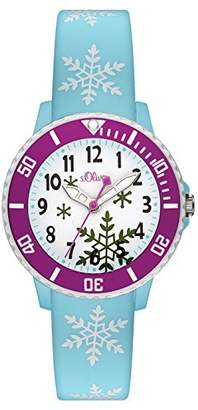 S'Oliver Girls' Watch SO-3411-PQ