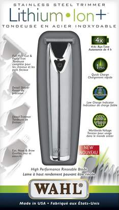 Wahl Lithium Ion Stainless Steel Trimmer