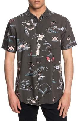 Quiksilver Banzai Woven Shirt