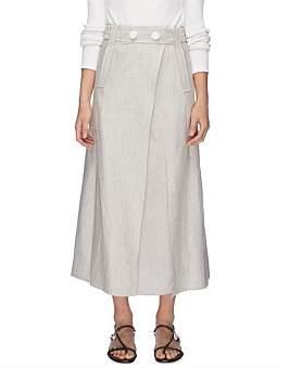 CHRISTOPHER ESBER Belted Paneled Skirt