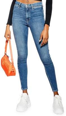 Topshop Pocket Det Jamie Jeans 32-Inch Leg