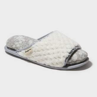 Dearfoams Women's Cloud Step Slide Slippers
