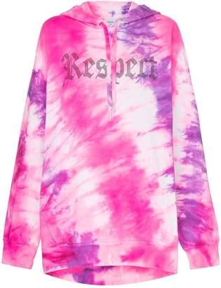 Ashish X Browns tie-dye Respect hoodie