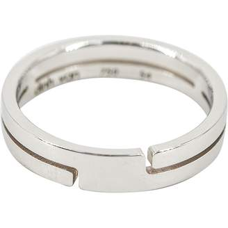 Dinh Van Seventies White Gold Ring