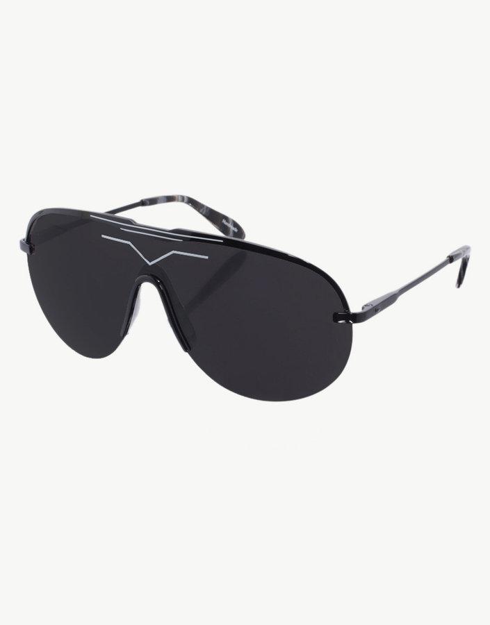 dVb Gold Detail Aviator Style Sunglasses