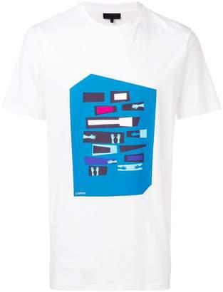 Lanvin graphic motif T-shirt