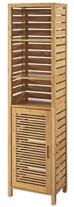Riverbay Furniture 3 Shelf Linen Tower in Natural