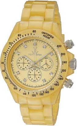 Toy Watch Toy Women's FLP07GD Quartz Dial Plastic Dial Watch